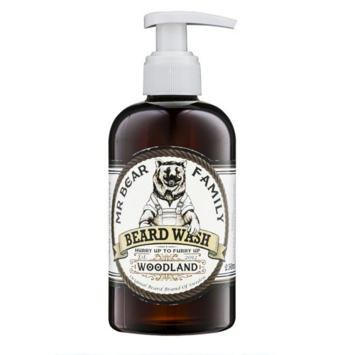 Mr. Bear Šampon na vousy Woodland (Beard Wash) 250 ml