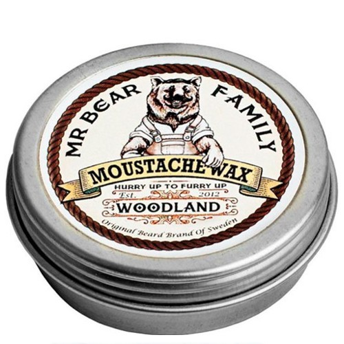 Mr. Bear Vosk na fúzy Woodland (Moustache Wax) 30 g