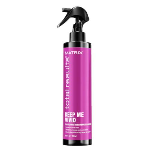 Matrix Bezoplachový sprej pro barvené vlasy Total Results Keep Me Vivid (Color Lamination) 200 ml