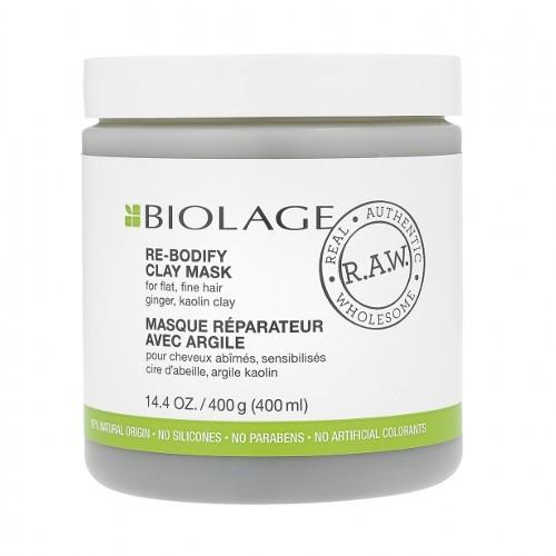 Matrix Jílová maska pro jemné a zplihlé vlasy Biolage R.A.W. (Re-Bodify Clay Mask) 400 ml