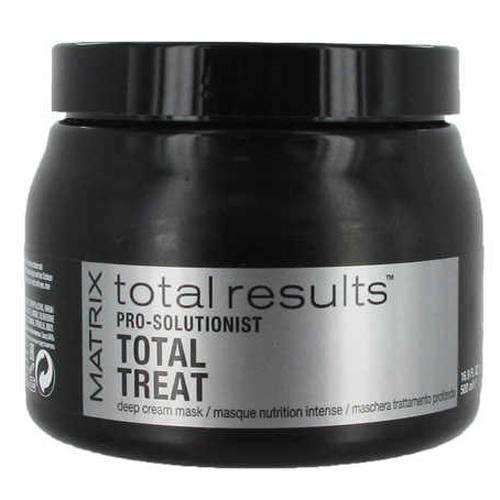 Matrix Maska pro poškozené vlasy Total Results Pro Solutionist (Total Treat Mask) 500 ml