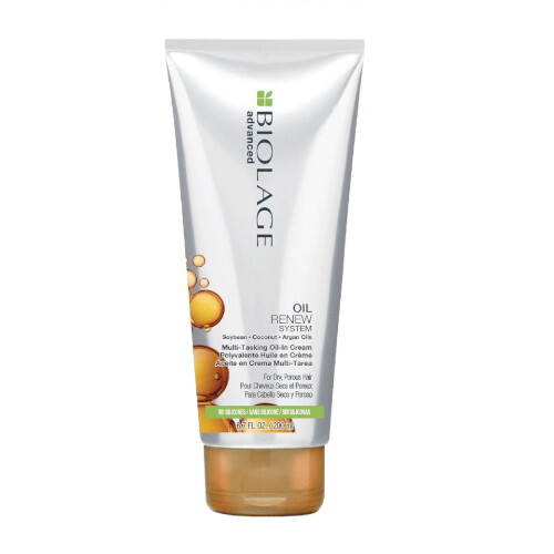 Biolage Víceúčelový olejový krém na vlasy Advanced Oil Renew System MultiTasking Oil In Cream 200 ml