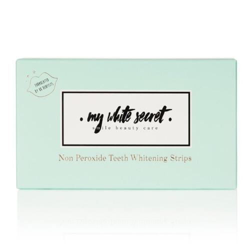 My White Secret Bieliace pásiky na zuby Whitening Strips 14 ks