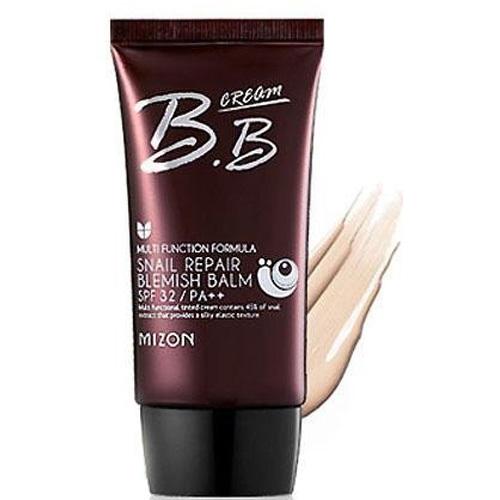 Mizon BB krém s filtrátem hlemýždího sekretu 45% SPF 32 (Snail Repair Blemish Balm) 50 ml Sand Beige