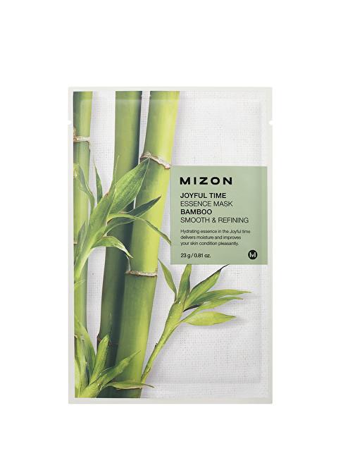 Mizon Plátýnková 3D maska s bambusem pro hydrataci a zjemnění pleti Joyful Time (Essence Mask Bamboo) 23 g