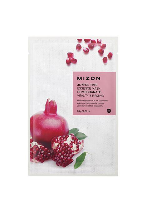 Mizon Plátýnková 3D maska s granátovým jablkem pro vitalitu a zpevnění pleti Joyful Time (Essence Mask Pomegranate) 23 g