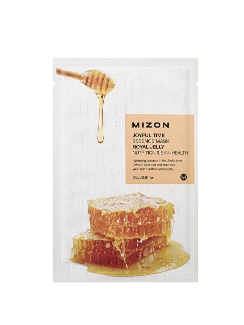 Mizon Plátýnková 3D maska s mateří kašičkou a medem pro výživu pleti Joyful Time (Essence Mask Royal Jelly) 23 g