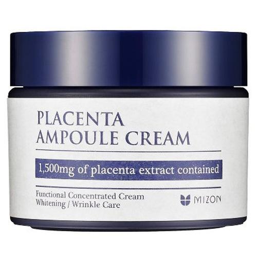 Fotografie Mizon Pleťový krém s obsahem 1500 mg Placenty (Placenta Ampoule Cream) 50 ml