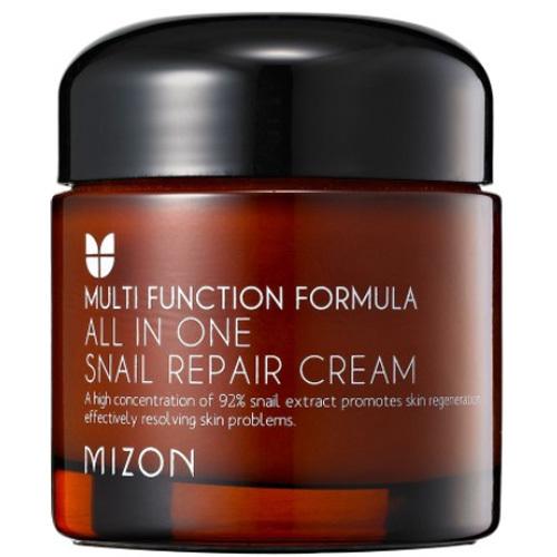 Mizon Regenerační pleťový krém s filtrátem hlemýždího sekretu 92% (All In One Snail Repair Cream) 35 ml - tuba