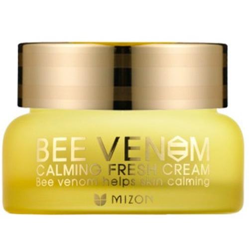 Fotografie Mizon Zklidňující, osvěžující pleťový krém s obsahem včelího jedu (Bee Venom Calming Fresh Cream) 50