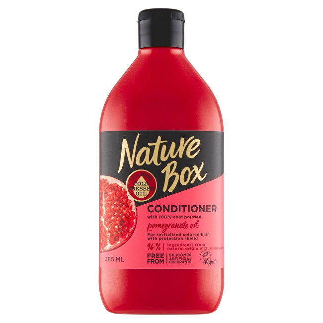 Nature Box Kondicionér na vlasy Granátové jablko (Conditioner) 385 ml