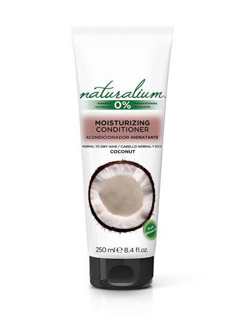 Naturalium Kondicionér pro hydrataci vlasů Kokos (Moisturizing Conditioner) 250 ml