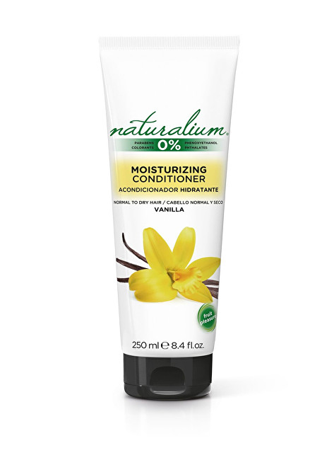 Naturalium Kondicionér pre hydratáciu vlasov Vanilka (Moisturizing Conditioner) 250 ml
