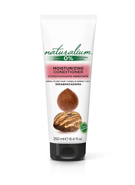 Naturalium Kondicionér pro hydrataci vlasů Bambucké máslo a makadam (Moisturizing Conditioner) 250 ml