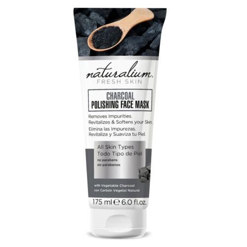 Naturalium Maska na obličej s dřevěným uhlím (Charcoal Polishing Face Mask) 75 ml