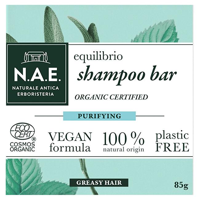 N.A.E. Čistiace tuhý šampón Equilibrio (Shampoo Bar) 85 g