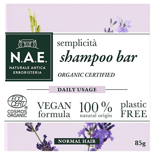 N.A.E. Tuhý šampón na každodenné použitie Semplicita (Shampoo Bar) 85 g