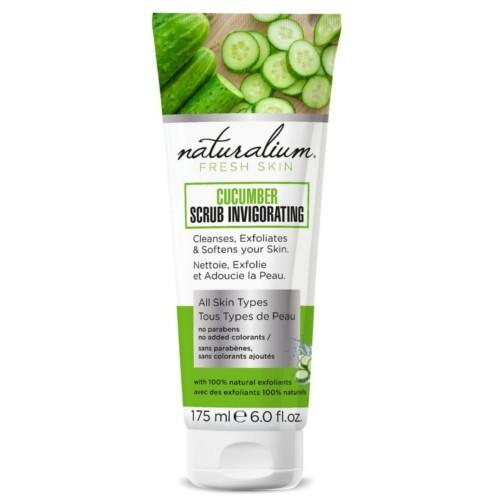 Naturalium Okurkový tělový peeling (Cucumber Scrub Invigorating) 175 ml
