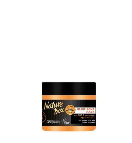 Nature Box Pečující maska na vlasy Apricot Oil (Recovery Mask) 200 ml