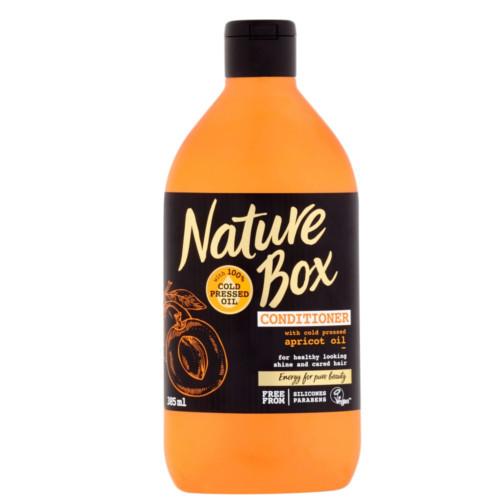 Nature Box Přírodní balzám na vlasy Apricot Oil (Conditioner) 385 ml