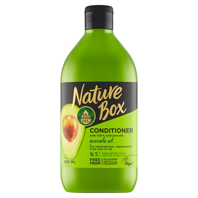 Nature Box Prírodné balzam na vlasy Avocado Oil (Conditioner) 385 ml