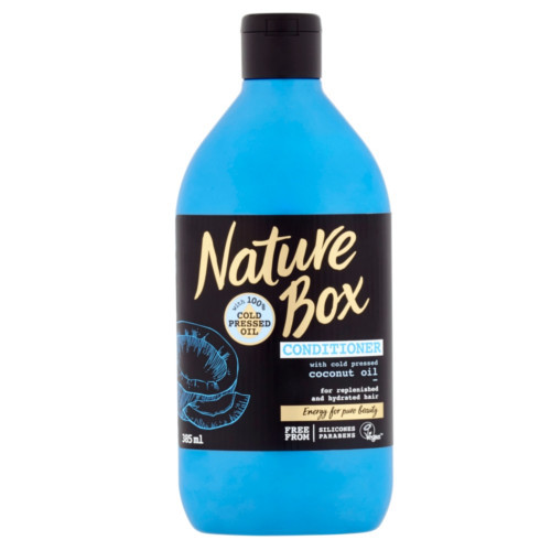 Nature Box Přírodní balzám na vlasy Coconut Oil (Conditioner) 385 ml