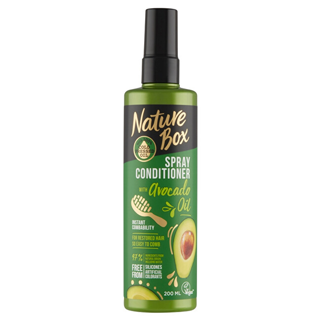 Nature Box Přírodní balzám ve spreji Avocado Oil (Spray Conditioner) 200 ml