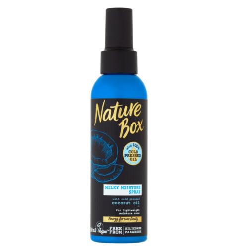 Nature Box Přírodní hydratační sprej na vlasy Coconut Oil (Milky Moisture Spray) 150 ml