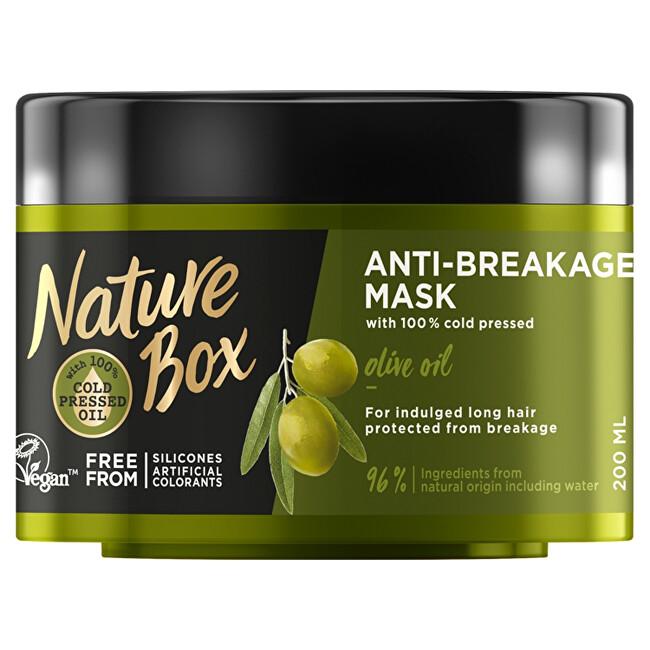Nature Box Přírodní maska na vlasy Olive Oil (Anti-Breakage Mask) 200 ml