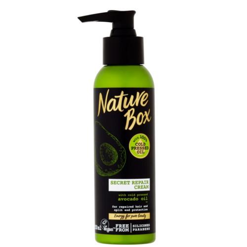 Nature Box Přírodní regenerační krém na vlasy Avocado Oil (Secret Repair Cream) 150 ml