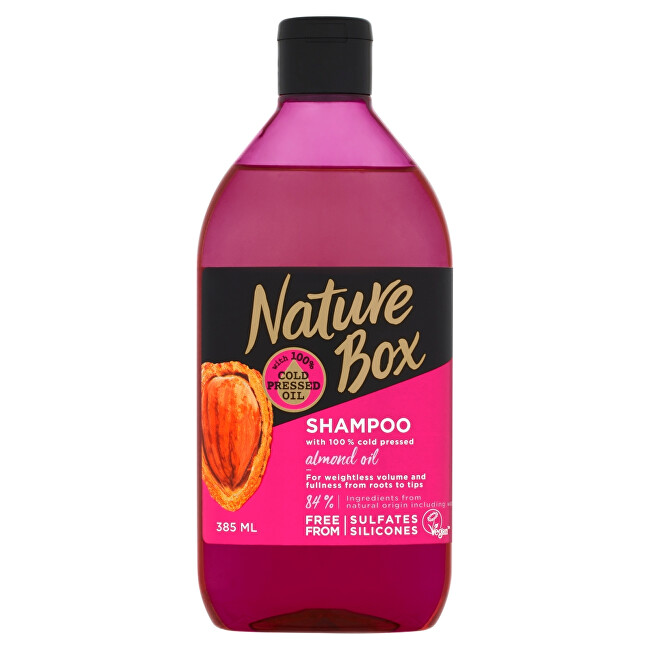 Nature Box šampon Almond Oil 385 ml