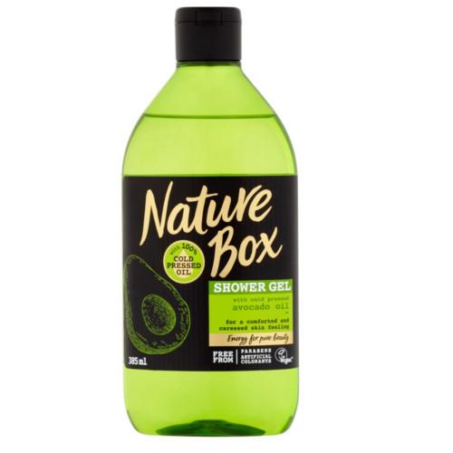 Nature Box sprchový gel Avocado Oil 385 ml