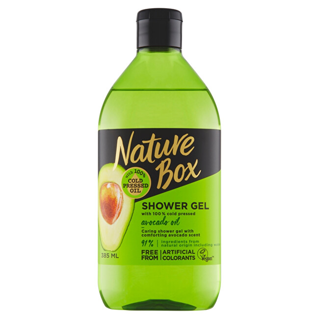 Nature Box Prírodné sprchový gél Avocado Oil (Shower Gel) 385 ml