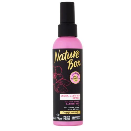 Nature Box Přírodní sprej pro intenzivní objem vlasů Almond Oil (Insta Lift-up Spray) 150 ml
