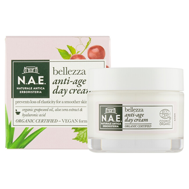 N.A.E. Protivráskový denní krém Bellezza (Anti-Age Day Cream) 50 ml