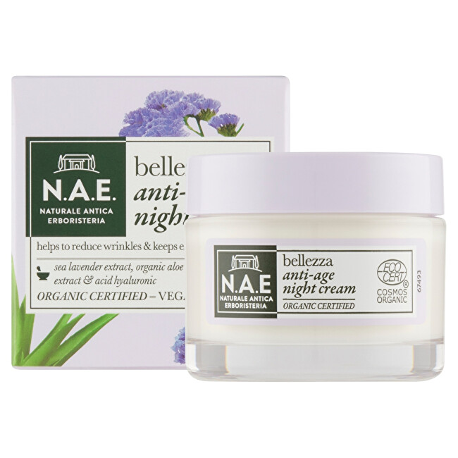 N.A.E. Protivráskový noční krém Bellezza (Anti-Age Night Cream) 50 ml