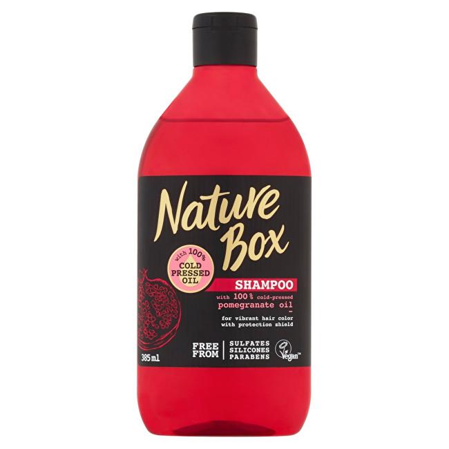 Nature Box Șampon pentru păr de rodie (Shampoo) 385 ml