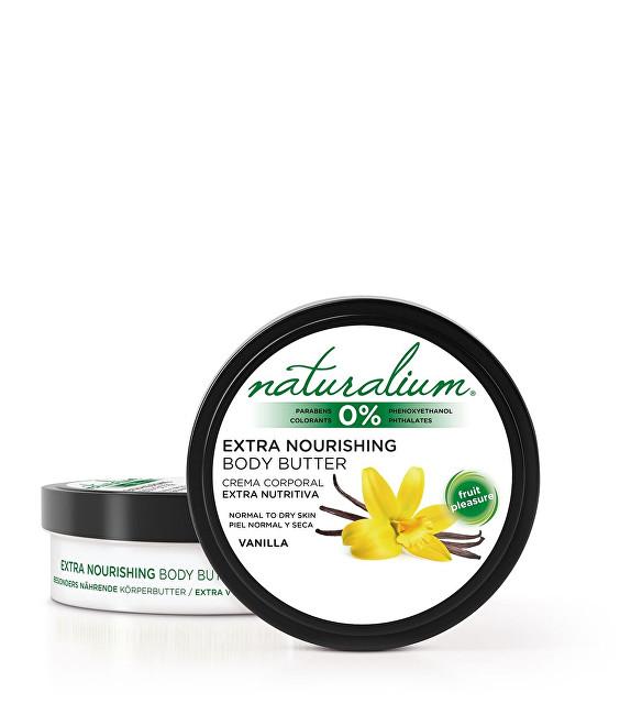 Naturalium Hydratační tělové máslo Vanilka (Extra Nourishing Body Butter) 200 ml