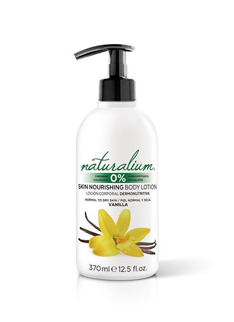 Naturalium Hydratační tělové mléko Vanilka (Skin Nourishing Body Lotion) 370 ml