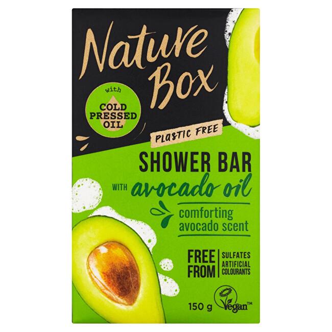 Nature Box Tuhé sprchové mýdlo Avocado Oil (Shower Bar) 150 g