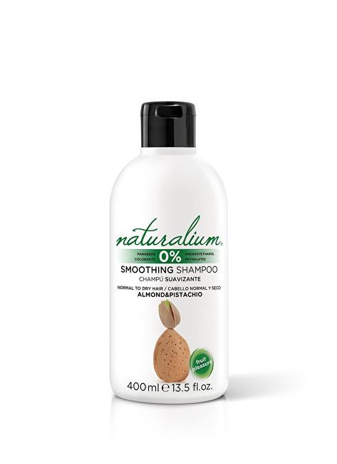 Naturalium Zvlhčující šampon Mandle a pistácie (Smoothing Shampoo) 400 ml