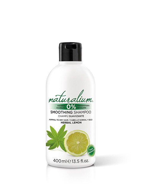 Naturalium Zvlhčující šampon Bylinky a citrusy (Smoothing Shampoo) 400 ml
