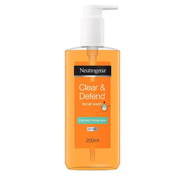 Neutrogena Čisticí gel Clear & Defend (Facial Wash) 200 ml