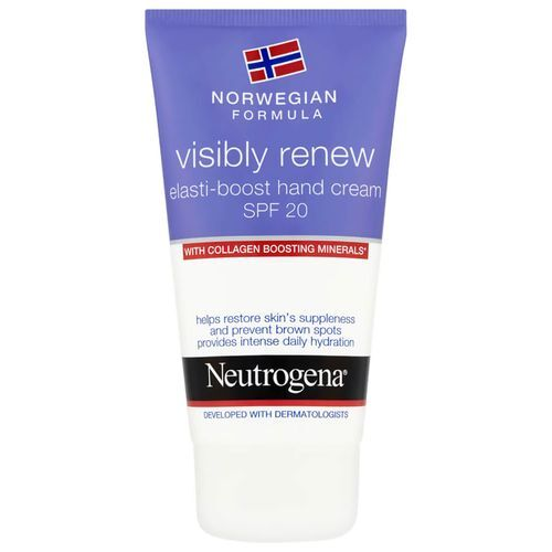 Neutrogena Denný krém na ruky Visibly Renew SPF 20 (Elasti-Boost Hand Cream) 75 ml