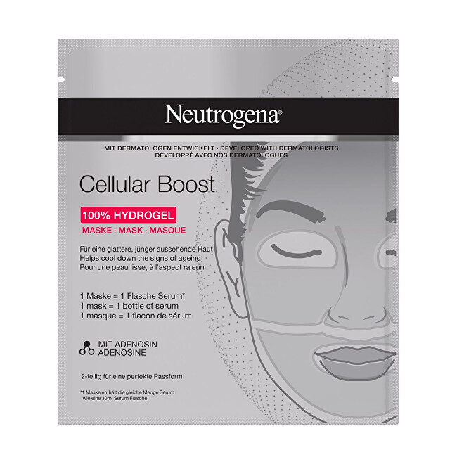 Neutrogena Hydrogelová maska Cellular Boost 100 Hydrogel Mask 1 ks