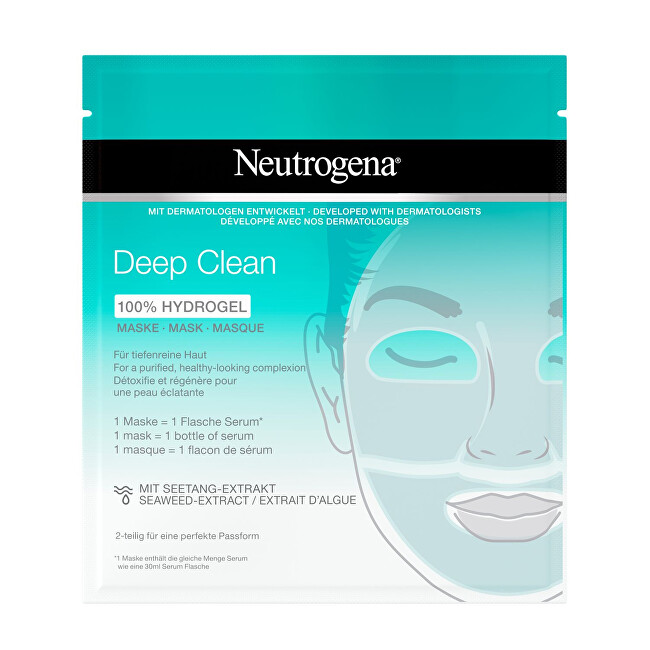 Neutrogena Hydrogelová maska Deep Clean 100  Hydrogel Mask 1 ks