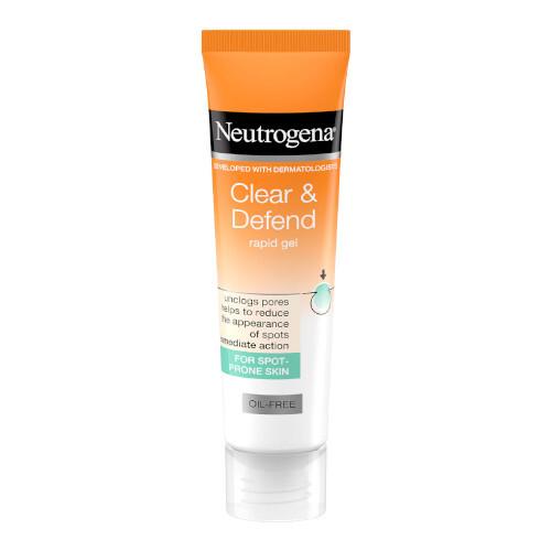 Neutrogena Lokální gel na akné Clear & Defend (Rapid Gel) 15 ml
