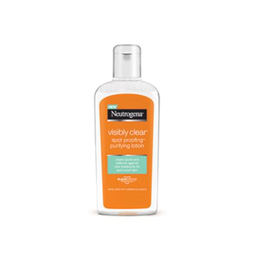 Neutrogena Micelární čistící tonikum Visibly Clear Spot Proofing (Purifying Lotion) 200 ml