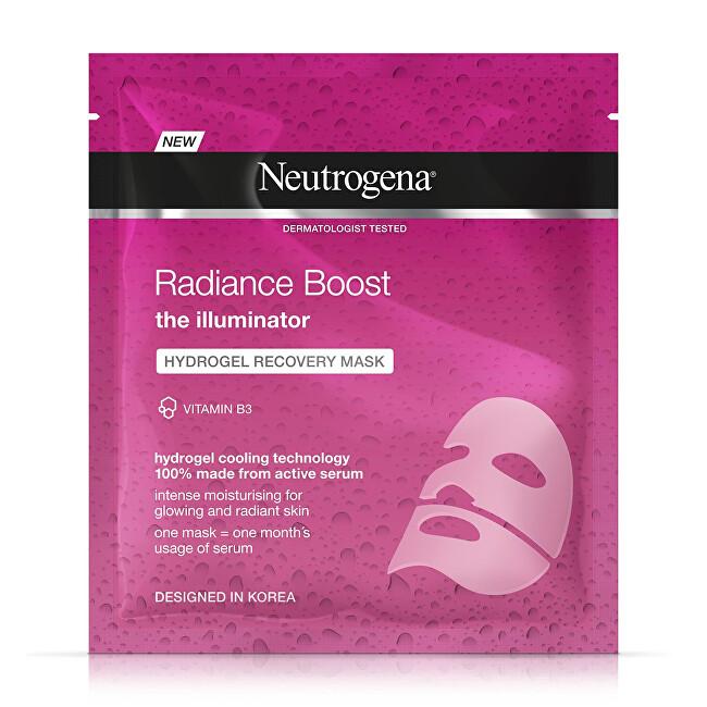 Neutrogena Rozjasňující hydrogelová maska Radiance Boost (Hydrogel Recovery Mask) 1 ks