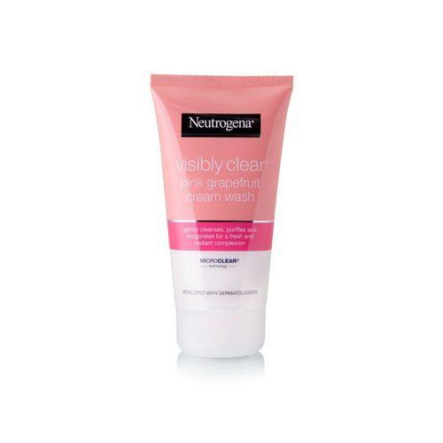 Neutrogena Osvěžující krémová čistící emulze Visibly Clear (Pink Grapefruit Cream Wash) 150 ml